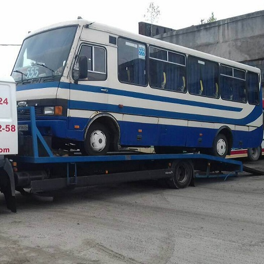 Перевезення (евакуація) автобусів